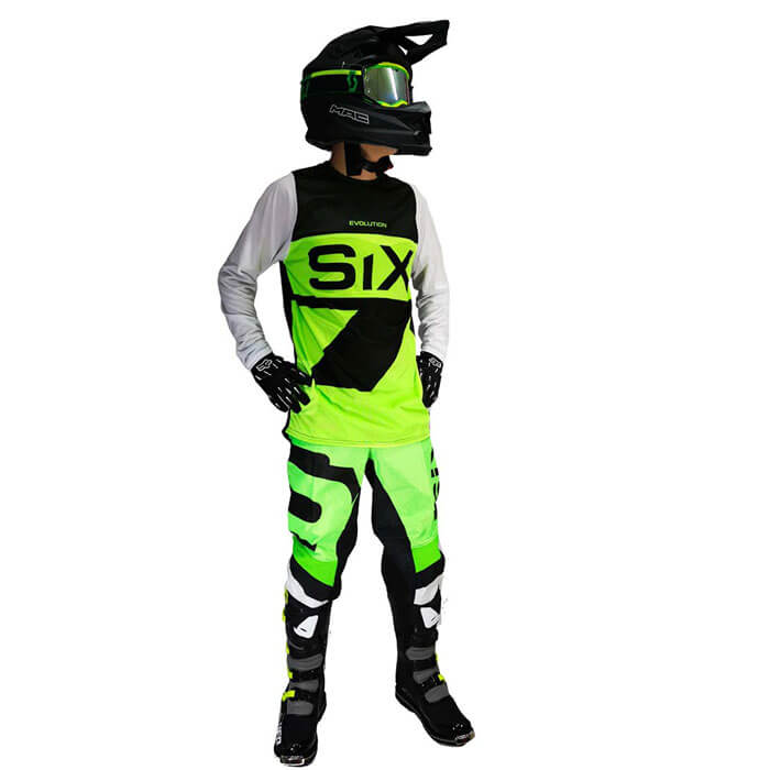 Conjunto Motocross Six