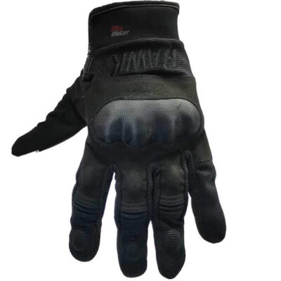 guantes para moto hawk army black