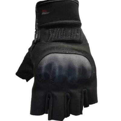 guantes para moto hawk sin dedos
